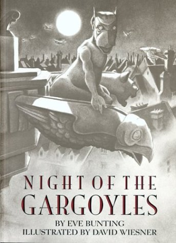 Night of gargoyles cover